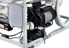 Csendes, nagy teljesítményű vízpumpa: 450 l/perc