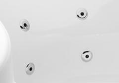 4 db célirányos mini vízfúvóka a háthoz