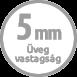 5mm üveg