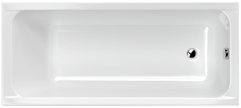 M-Acryl Eco egyenes kád felülnézet