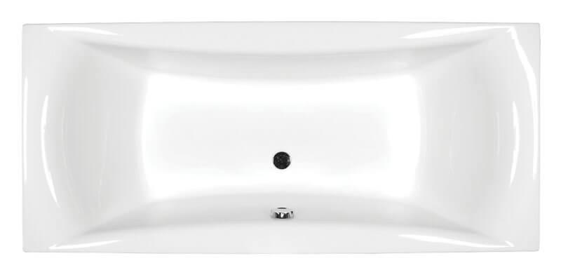 M-Acryl Amanda egyenes akril fürdőkád