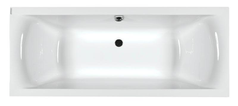 M-Acryl Helena egyenes akril fürdőkád