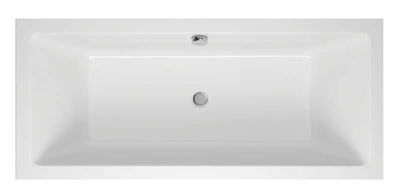 M-Acryl Sabina Slim egyenes akril fürdőkád