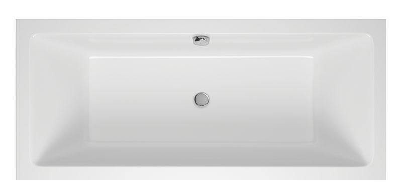 M-Acryl Sabina Slin egyenes akril fürdőkád