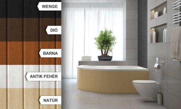 Ezért érdemel fürdőkádja igazi trópusi fa előlapot