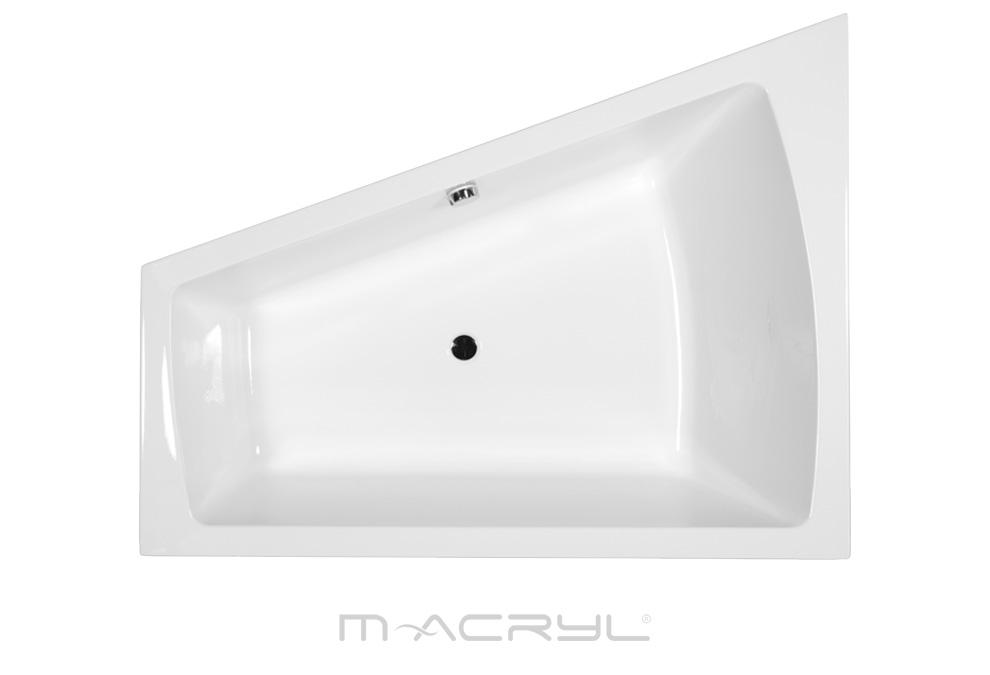 M-Acryl Grande különleges akril fürdőkád